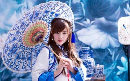 Красота и молодость азиатских женщин