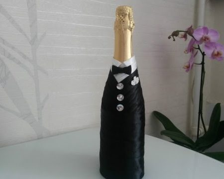 бутылка «жених», фото