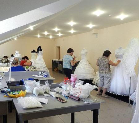 производство нарядов для свадьбы, фото
