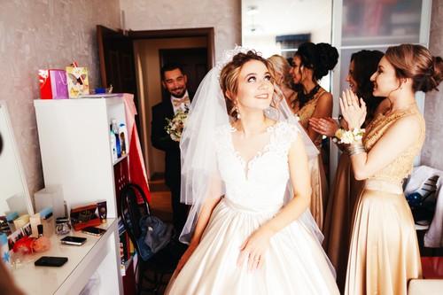 свадебный банкет дома, фото