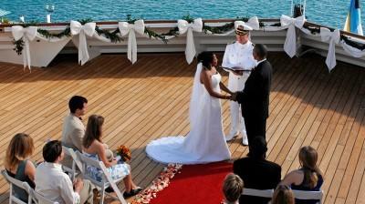 свадебный круиз, фото