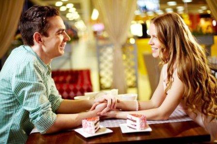 Признание в любви в ресторане