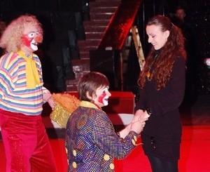 Признание в цирке