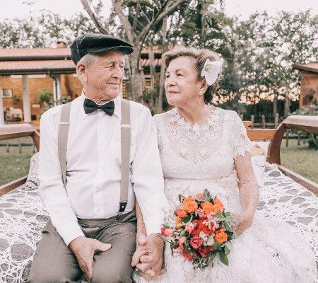 свадьба для людей в возрасте, фото