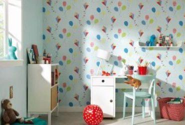 Выбор обоев в детскую комнату фото