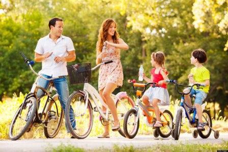 Активный отдых семьей