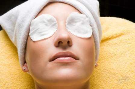 Компрессы при болезни глаз