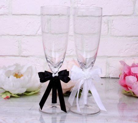 свадебные бокалы, фото