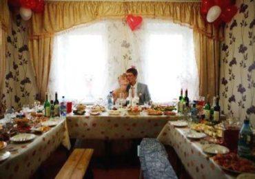 Как организовать домашнюю свадьбу, фото