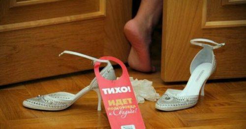 Обязанности молодых на свадьбе - подготовка, фото