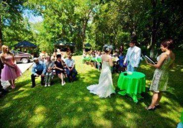Организация свадьбы на природе, фото