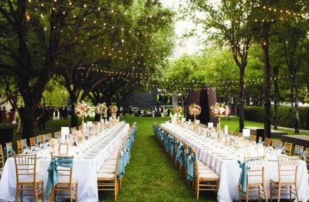 Идеи проведения свадьбы на природе