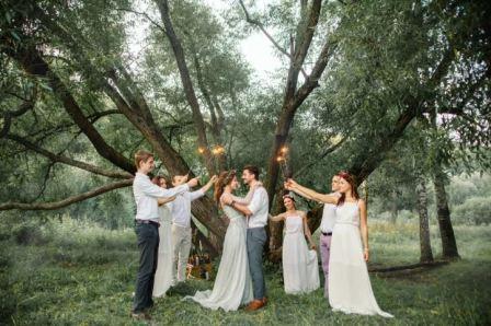 Плюсы и минусы свадьбы на природе