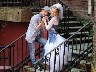 Свадьба в джинсовом стиле, фото