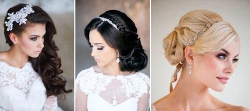 Прическа невесты, фото