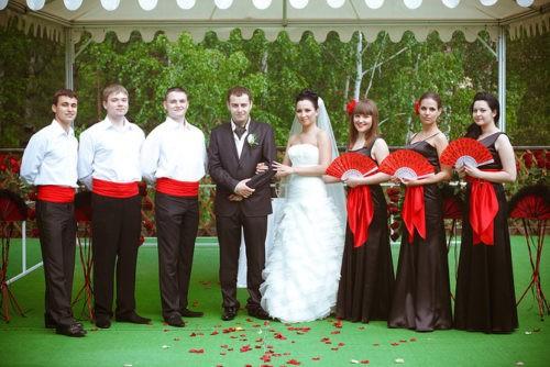 Образ жениха и невесты, фото