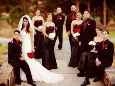 Свадьба в испанском стиле, фото