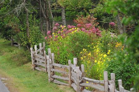 Садовая оградка