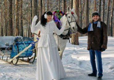 Зимняя свадьба, фото