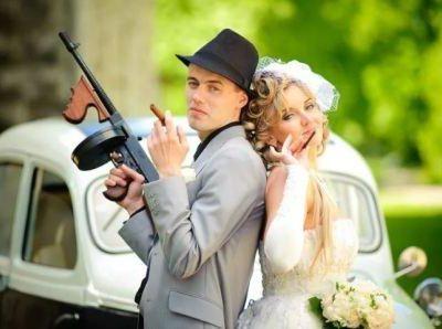 Гангстерская свадьба, фото