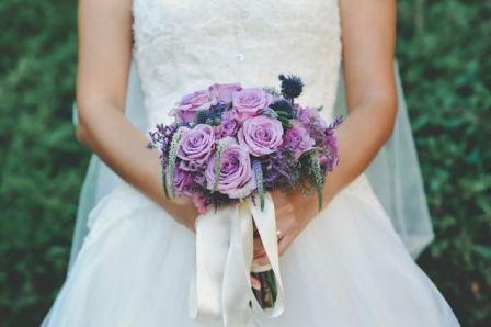 Как собрать букет невесты