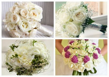 Букет невесты из каких цветов