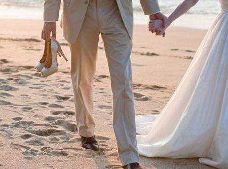 Романтическая свадьба на пляже, фото