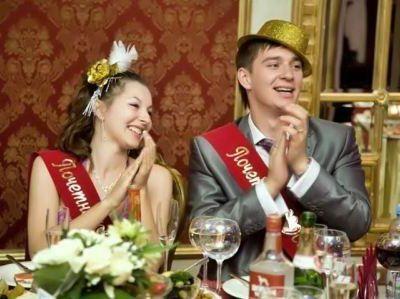 Свидетели на свадьбе, фото