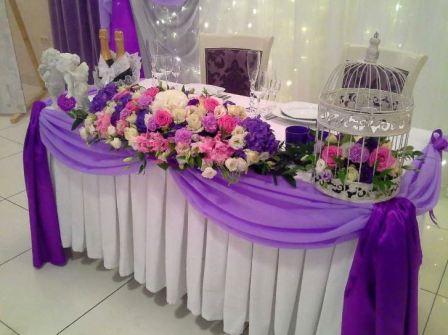 Идеи оформления зала на свадьбу