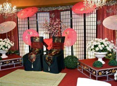 Свадьба в японском стиле, фото