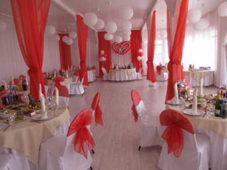 Как организовать свадьбу в красном стиле