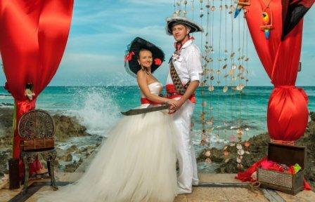 Организация свадьбы тематической