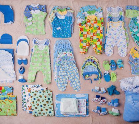 Перечень одежды для грудничка для прогулки