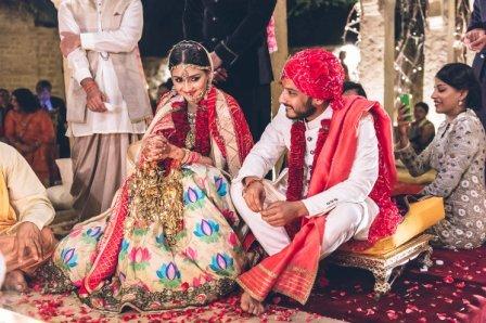 Свадьба: образ жениха и невесты
