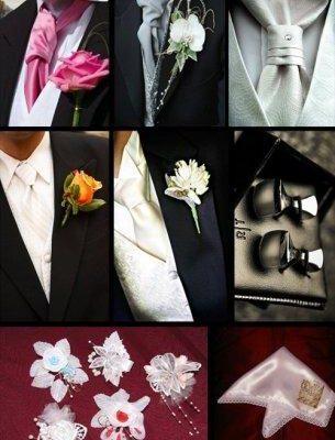 Свадебные аксессуары для жениха: выбор