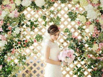 Летняя свадьба в стиле цветов, цветочная свадьба