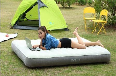 Пляжная палатка и матрас