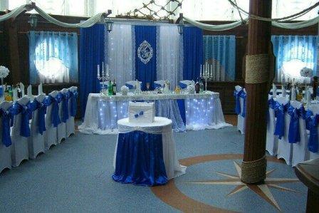 Оформление тематической свадьбы