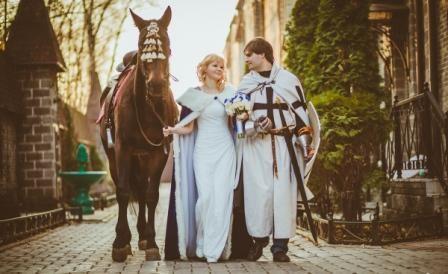 Проведение свадьбы в рыцарском стиле