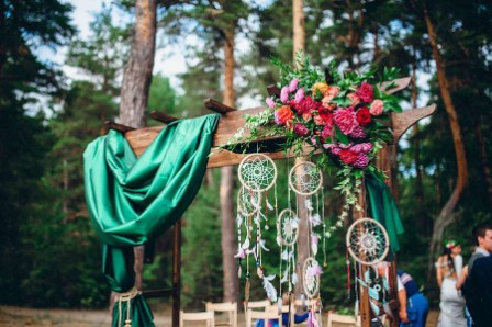 Свадьба: оформление и сценарий