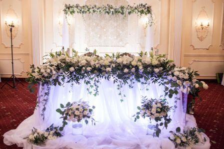 Проведение свадьбы: украшение