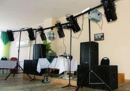 Музыкальное оборудование на свадьбу