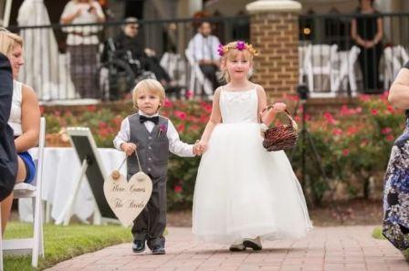 Малыши на свадьбе