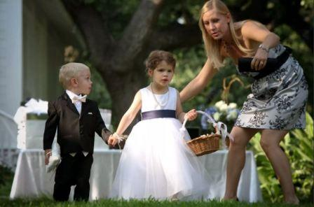 В чем могут помочь дети на свадьбе