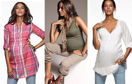 Удобство одежды беременной