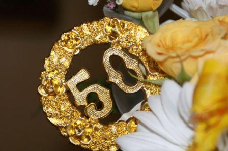 Годовщина, Золотая свадьба, 50 лет