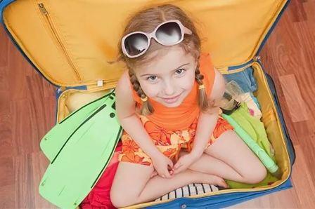 Как собраться в отпуск с детьми