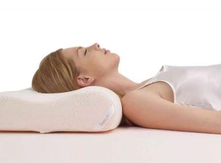 Ортопедическая подушка для сна на спине