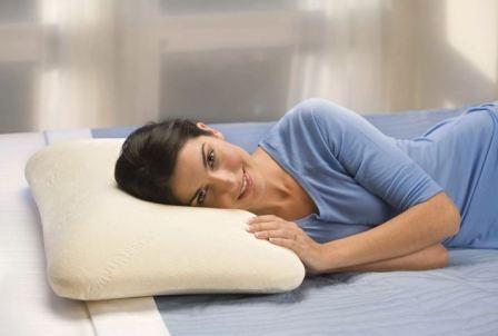 Жесткость ортопедической подушки