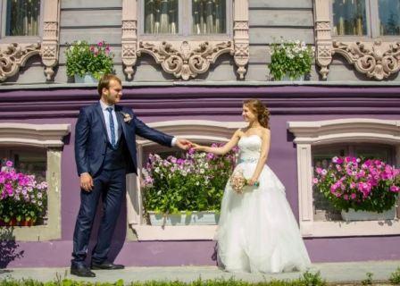 Свадебный образ для хрупкой невесты